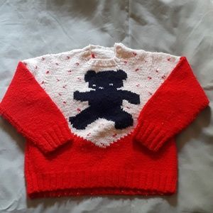 Toddler's wool sweater